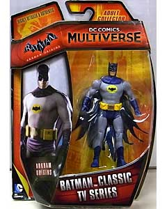 MATTEL DC COMICS MULTIVERSE 4インチアクションフィギュア BATMAN: ARKHAM ORIGINS BATMAN CLASSIC TV SERIES