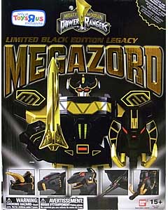 USA BANDAI POWER RANGERS MIGHTY MORPHIN USA TOYSRUS限定 LIMITED BLACK EDITION LEGACY MEGAZORD