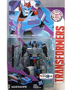 HASBRO アニメ版 TRANSFORMERS ROBOTS IN DISGUISE USA TOYSRUS限定 DELUXE CLASS SIDESWIPE