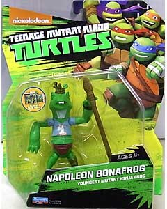 PLAYMATES NICKELODEON TEENAGE MUTANT NINJA TURTLES ベーシックフィギュア 2015 NAPOLEON BONAFROG