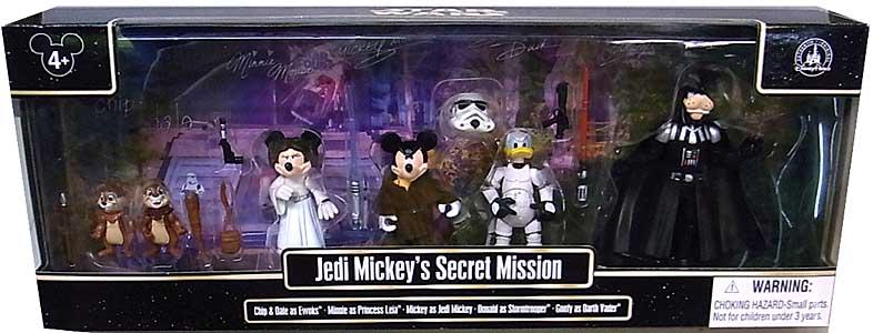 STAR WARS USAディズニーテーマパーク限定 フィギュア JEDI MICKEY'S SECRET MISSION ワケアリ特価