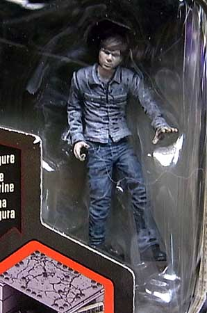 McFARLANE TOYS THE WALKING DEAD TV BUILDING SETS LOWER PRISON CELL [CARL GRIMES]