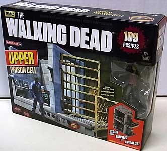 McFARLANE TOYS THE WALKING DEAD TV BUILDING SETS UPPER PRISON CELL [CAROL PELETIER]