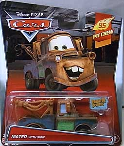 MATTEL CARS 2015 シングル MATER WITH SIGN