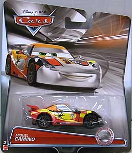 MATTEL CARS 2015 SILVER RACER SERIES シングル MIGUEL CAMINO 台紙傷み特価