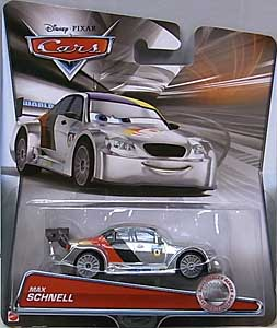MATTEL CARS 2015 SILVER RACER SERIES シングル MAX SCHNELL 台紙傷み特価