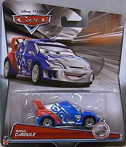 MATTEL CARS 2015 SILVER RACER SERIES シングル RAOUL CAROULE 台紙傷み特価