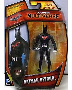 MATTEL DC COMICS MULTIVERSE 4インチアクションフィギュア BATMAN: ARKHAM CITY BATMAN BEYOND