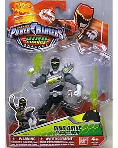 USA BANDAI POWER RANGERS DINO CHARGE 5インチアクションフィギュア DINO DRIVE BLACK RANGER