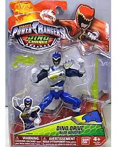 USA BANDAI POWER RANGERS DINO CHARGE 5インチアクションフィギュア DINO DRIVE BLUE RANGER