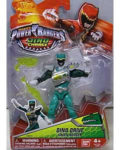 USA BANDAI POWER RANGERS DINO CHARGE 5インチアクションフィギュア DINO DRIVE GREEN RANGER