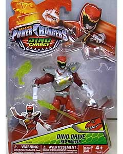 USA BANDAI POWER RANGERS DINO CHARGE 5インチアクションフィギュア DINO DRIVE RED RANGER