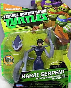 PLAYMATES NICKELODEON TEENAGE MUTANT NINJA TURTLES ベーシックフィギュア 2015 KARAI SERPENT