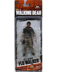 McFARLANE TOYS THE WALKING DEAD TV 5インチアクションフィギュア SERIES 7.5 CELL BLOCK FLU WALKER