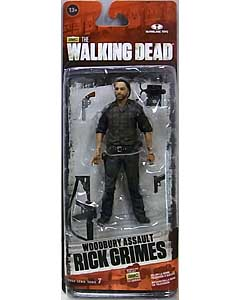 McFARLANE TOYS THE WALKING DEAD TV 5インチアクションフィギュア SERIES 7.5 WOODBURY ASSAULT RICK GRIMES