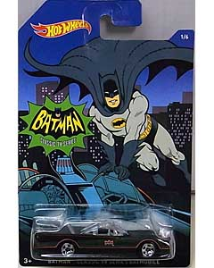 MATTEL HOT WHEELS 1/64スケール 2015 WALMART限定 BATMAN CLASSIC TV SERIES BATMOBILE