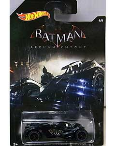 MATTEL HOT WHEELS 1/64スケール 2015 WALMART限定 BATMAN: ARKHAM KNIGHT BATMOBILE