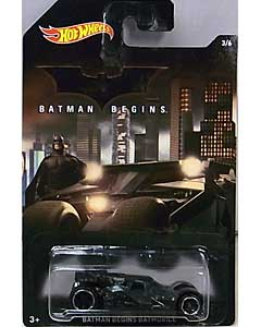 MATTEL HOT WHEELS 1/64スケール 2015 WALMART限定 BATMAN BEGINS BATMOBILE