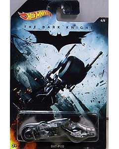 MATTEL HOT WHEELS 1/64スケール 2015 WALMART限定 THE DARK KNIGHT BAT-POD