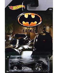 MATTEL HOT WHEELS 1/64スケール 2015 WALMART限定 BATMAN TOONED BATMOBILE