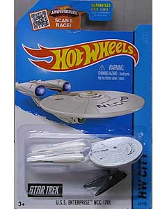 MATTEL HOT WHEELS 1/64スケール 2015 HW CITY U.S.S. ENTERPRISE NCC-1701