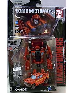 HASBRO TRANSFORMERS GENERATIONS 2015 [COMBINER WARS] DELUXE CLASS IRONHIDE [COMIC BOOK INCLUDED]