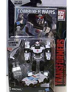 HASBRO TRANSFORMERS GENERATIONS 2015 [COMBINER WARS] DELUXE CLASS PROWL [COMIC BOOK INCLUDED] ブリスター傷み特価