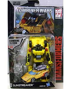 HASBRO TRANSFORMERS GENERATIONS 2015 [COMBINER WARS] DELUXE CLASS SUNSTREAKER [COMIC BOOK INCLUDED]
