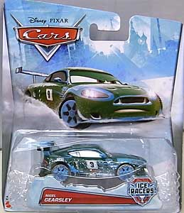 MATTEL CARS 2015 ICE RACERS シングル NIGEL GEARSLEY