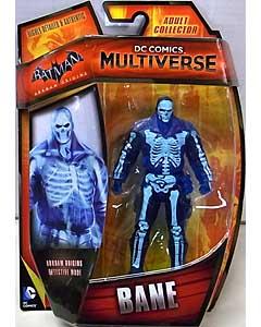 MATTEL DC COMICS MULTIVERSE 4インチアクションフィギュア BATMAN: ARKHAM ORIGINS BANE [DETECTIVE MODE]
