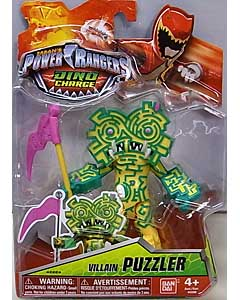 USA BANDAI POWER RANGERS DINO CHARGE 5インチアクションフィギュア VILLAIN PUZZLER