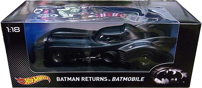 MATTEL HOT WHEELS 1/18スケール HERITAGE BATMAN RETURNS BATMOBILE