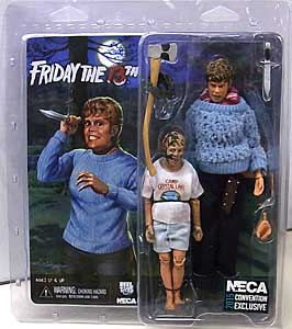 コンベンション限定 NECA FRIDAY THE 13TH 8インチドール PAMELA VOORHEES & CHILD JASON