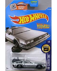 MATTEL HOT WHEELS 1/64スケール 2016 HW SCREEN TIME BACK TO THE FUTURE TIME MACHINE HOVER MODE #221
