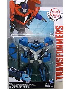 HASBRO アニメ版 TRANSFORMERS ROBOTS IN DISGUISE DELUXE CLASS BLIZZARD STRIKE OPTIMUS PRIME