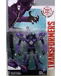 HASBRO アニメ版 TRANSFORMERS ROBOTS IN DISGUISE DELUXE CLASS DECEPTICON FRACTURE