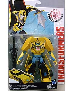 HASBRO アニメ版 TRANSFORMERS ROBOTS IN DISGUISE DELUXE CLASS NIGHT STRIKE BUMBLEBEE