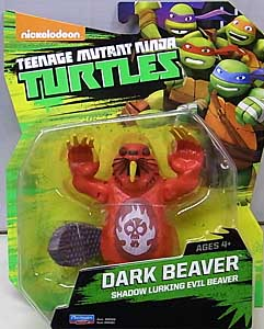 PLAYMATES NICKELODEON TEENAGE MUTANT NINJA TURTLES ベーシックフィギュア 2015 DARK BEAVER