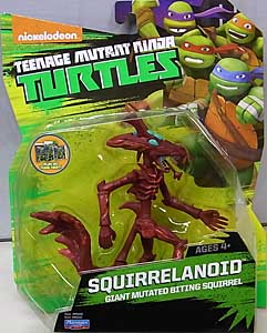 PLAYMATES NICKELODEON TEENAGE MUTANT NINJA TURTLES ベーシックフィギュア 2015 SQUIRRELANOID