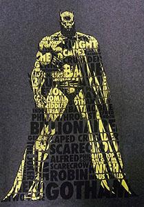BATMAN REDEFINED /バットマン (グレー)