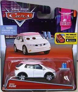 MATTEL CARS 2015 シングル MIKE FUSE ブリスター傷み特価