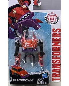 HASBRO アニメ版 TRANSFORMERS ROBOTS IN DISGUISE LEGION CLASS CLAMPDOWN