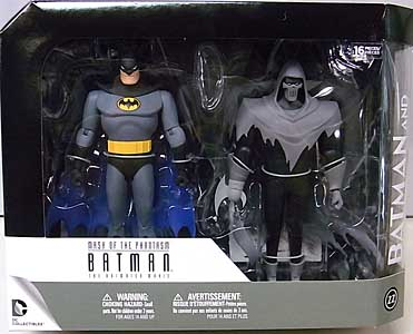 DC COLLECTIBLES BATMAN: MASK OF THE PHANTASM BATMAN AND PHANTASM 2PACK