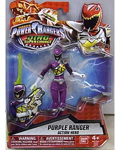 USA BANDAI POWER RANGERS DINO SUPER CHARGE 5インチアクションフィギュア PURPLE RANGER