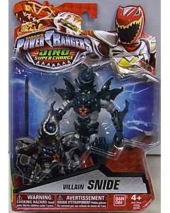 USA BANDAI POWER RANGERS DINO SUPER CHARGE 5インチアクションフィギュア VILLAIN SNIDE