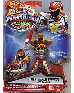 USA BANDAI POWER RANGERS DINO SUPER CHARGE 5インチアクションフィギュア T-REX SUPER CHARGE RED RANGER