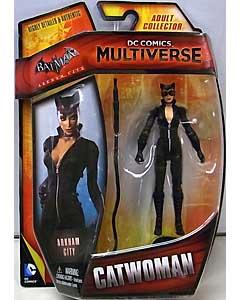 MATTEL DC COMICS MULTIVERSE 4インチアクションフィギュア BATMAN: ARKHAM CITY CATWOMAN