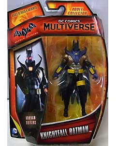 MATTEL DC COMICS MULTIVERSE 4インチアクションフィギュア BATMAN: ARKHAM ORIGINS KNIGHTFALL BATMAN