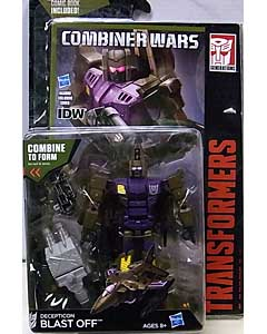 HASBRO TRANSFORMERS GENERATIONS 2015 [COMBINER WARS] DELUXE CLASS DECEPTICON BLAST OFF [COMIC BOOK INCLUDED] ブリスター傷み特価