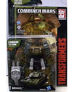 HASBRO TRANSFORMERS GENERATIONS 2015 [COMBINER WARS] DELUXE CLASS BRAWL [COMIC BOOK INCLUDED]